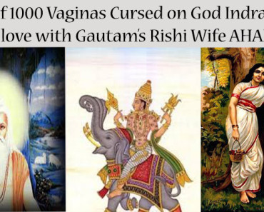 Lord Indra Curse For 1000 Vaginas