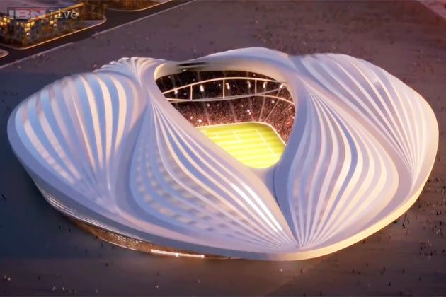 10 Things Look Exactly Like Female Vagina Qatar World Cup Stadium