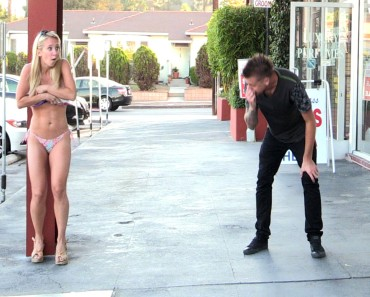 Girls Clothes Blown Off Prank is Sexy and Entertaining