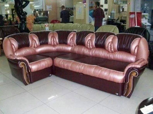 Vagina Couch tha look exactly like female vagina