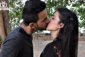 Kissing Prank video