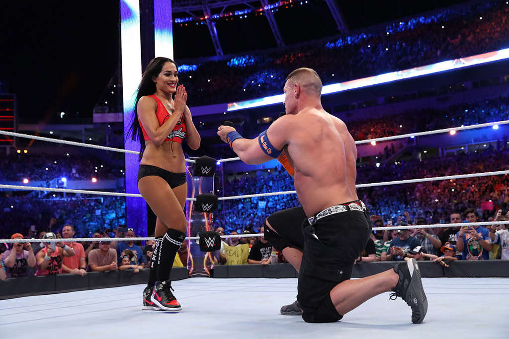John Cena Proposed Nikki Bella