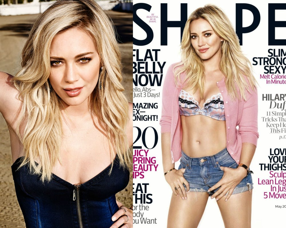 Hot Photos Of Hilary Duff