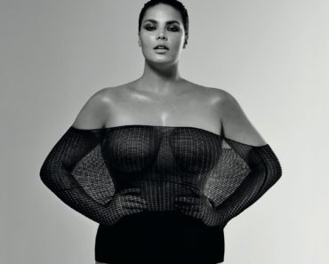 Plus Size Model Candice Huffine Hot Photos